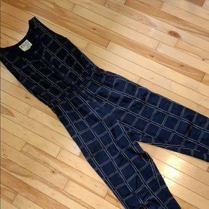Ace & Jig Pants - Ace & Jig Black Magic Jumpsuit